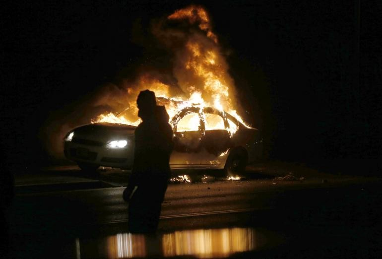 Ferguson Residents Respond Explosively To Long-Awaited Grand Jury Decision | Ferguson