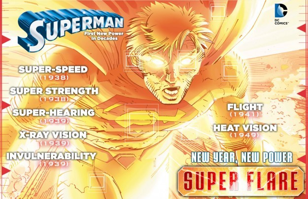 Superman Receives Awesome New, Destructive Power | Superman