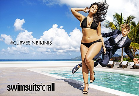 Ashley Graham Stuns As First Plus-Sized Model For Sports Illustrated Swimsuit Issue | Ashley Graham