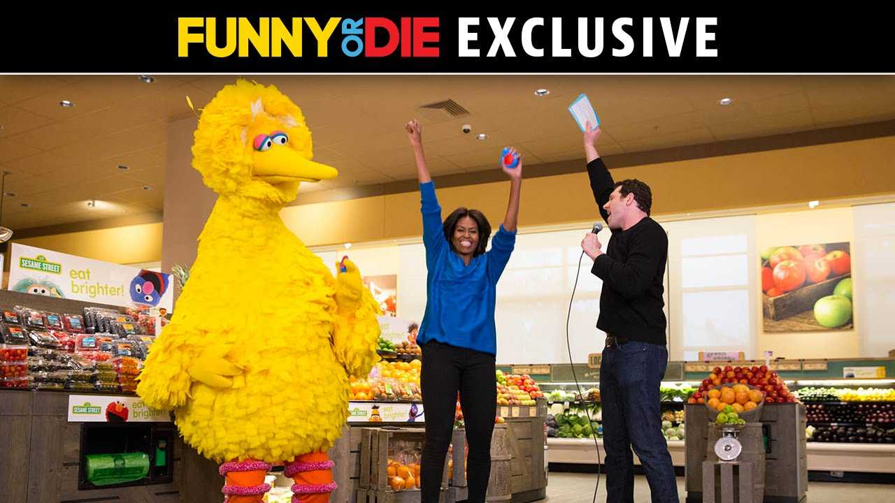 """Billy On The Street"" Is Back With Michelle Obama, Big Bird… And Elena! 