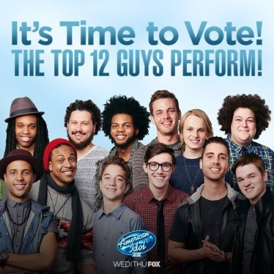 American Idol Kicks Off Live Shows With Top 12 Guys!! | American Idol