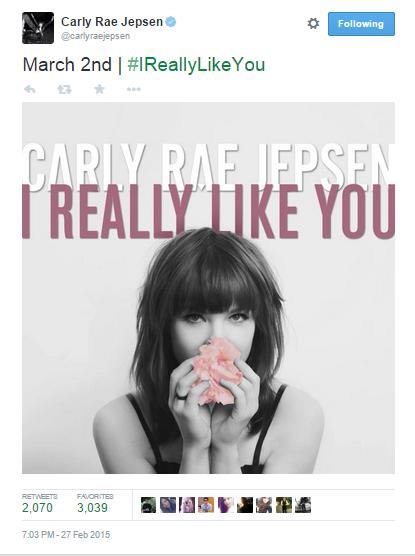 Carly Rae Jepsen's Single, I Really Like You, Is Really Really Catchy | Carly Rae Jepsen