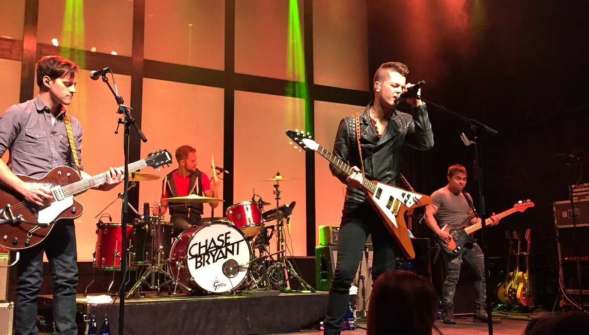Chase Bryant Headlining 'Take It On Back