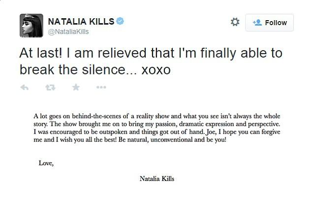 Former X Factor Judges Natalia Kills And Willy Moon FINALLY Apologize | Natalia Kills