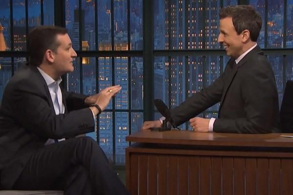 Seth Meyers Takes On Senator Ted Cruz About Gay Marriage | Ted Cruz