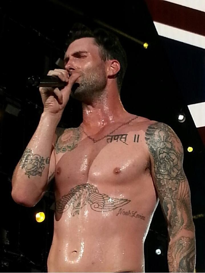 Adam Levine Is Ambushed By Fan During Concert | Adam Levine