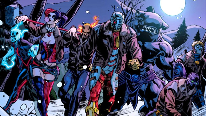 Suicide Squad Director David Ayer Posts FIRST PHOTO Of Cast In Costume!! | Suicide Squad
