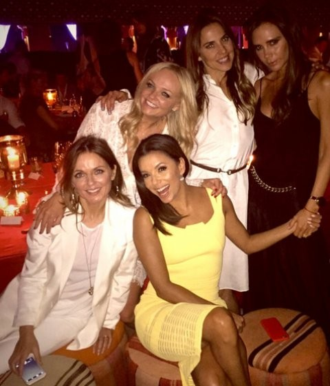 Spice Girls In Trouble? Mel B. NOT INVITED To David Beckham's Birthday Bash??   Spice Girls