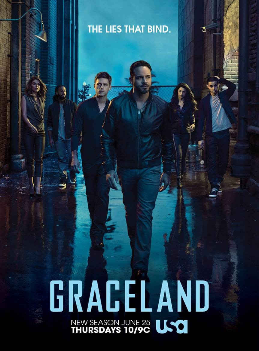 10 Reasons Why You Need To Drop Everything & Binge-Watch USA's Graceland | Graceland