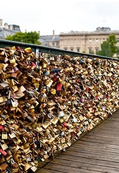 Say Goodbye to the Pont Des Arts Bridge and All Those 'Love Locks' | Love Locks