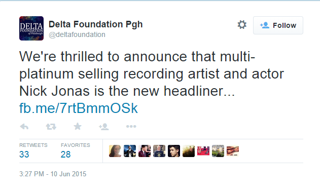 Nick Jonas Replaces Iggy Azalea For Pittsburgh Pride Show | Nick Jonas