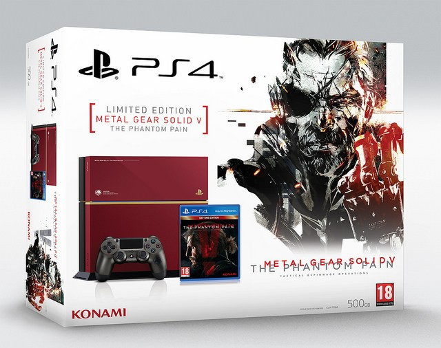 Limited Edition Metal Gear Playstation 4 Available In Europe This Fall | Playstation 4