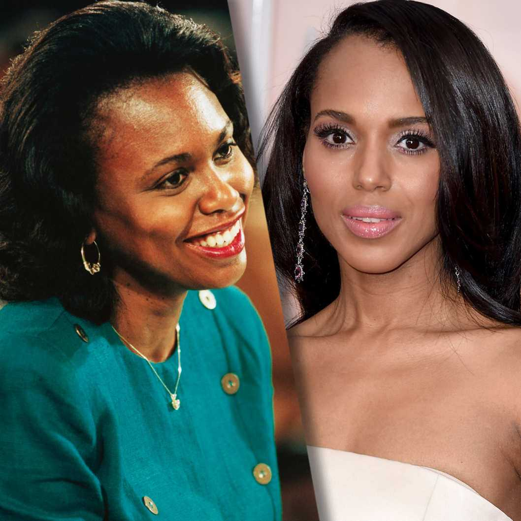 First Look At Kerry Washington As Anita Hill | Kerry Washington
