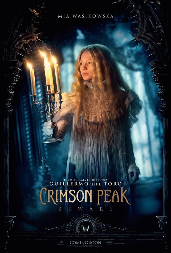 New Character Posters Unveiled For Gothic Thriller Crimson Peak | Crimson Peak