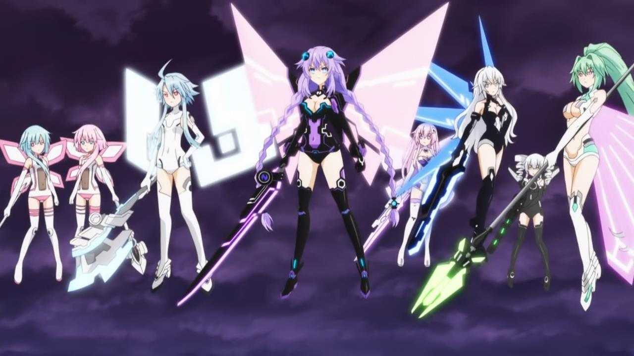Hyperdimension Neptunia Complete Series Review | hyperdimension neptunia