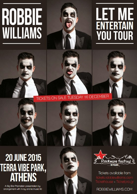 Preparing For The Robbie Williams Live Experience | Robbie Williams