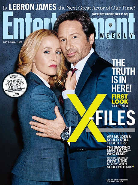 We Believe: X-Files Revival Photos Have Us Excited! | x-files