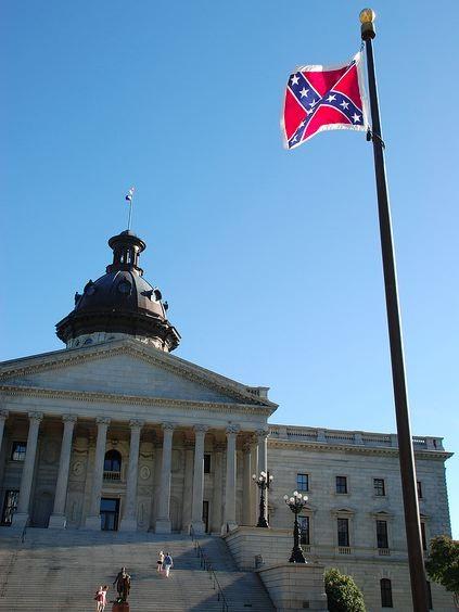 Bree Newsome Climbs Pole In South Carolina To Remove Confederate Flag   Bree Newsome