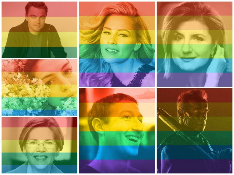 Facebook Is A Giant Rainbow: 26 Million Go Multicolored In Support Of Same-Sex Marriage | marriage
