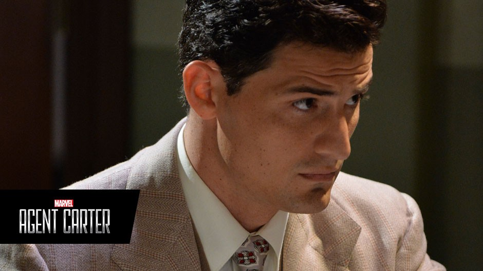 Enver Gjokaj And James D'Arcy Return To Agent Carter | agent carter