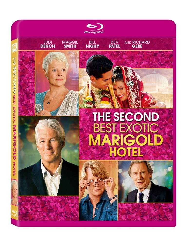 Dress To Impress: 'The Second Best Exotic Marigold Hotel' Coming Soon To Blu-Ray/DVD | marigold