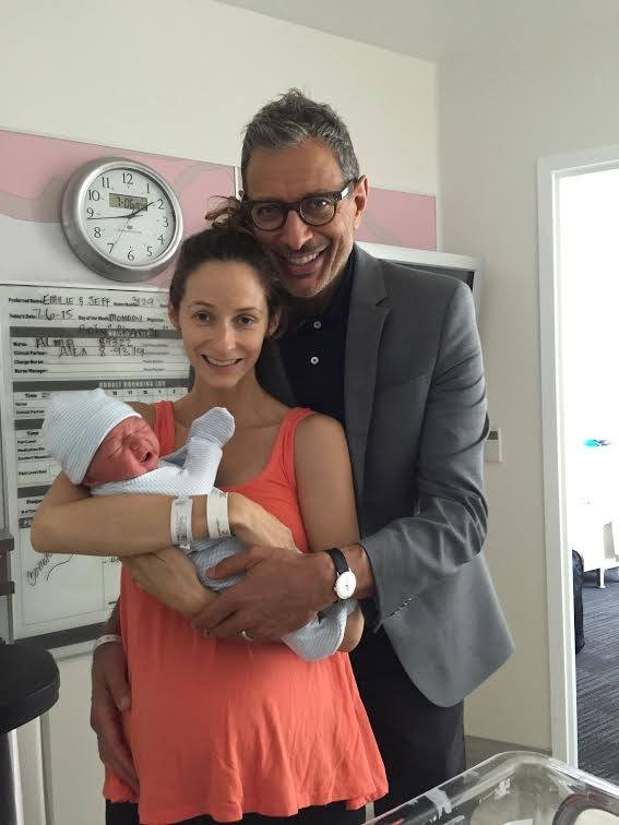 Jeff Goldblum Welcomes Baby Boy On Independence Day | Jeff Goldblum