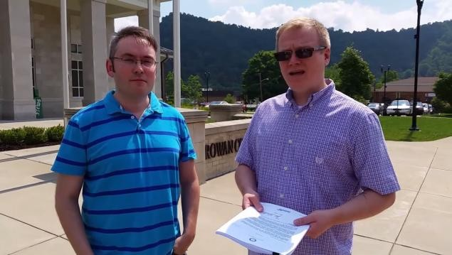 Same-Sex Couple Record Clerk Denying Them A Marriage License | marriage license