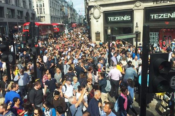 Tube Strike Causes Chaos For Millions In The UK | Tube Strike