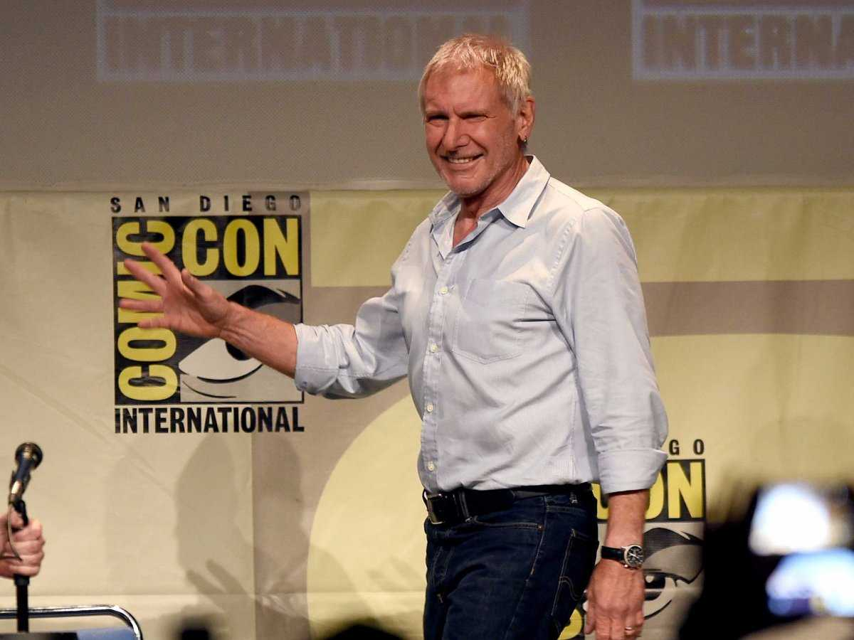 Harrison Ford Makes First Appearance Since Plane Crash At SDCC 2015 | Harrison Ford