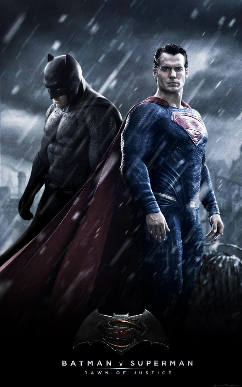 Batman V Superman Trailer Gets Standing Ovation At Comic-Con | Superman
