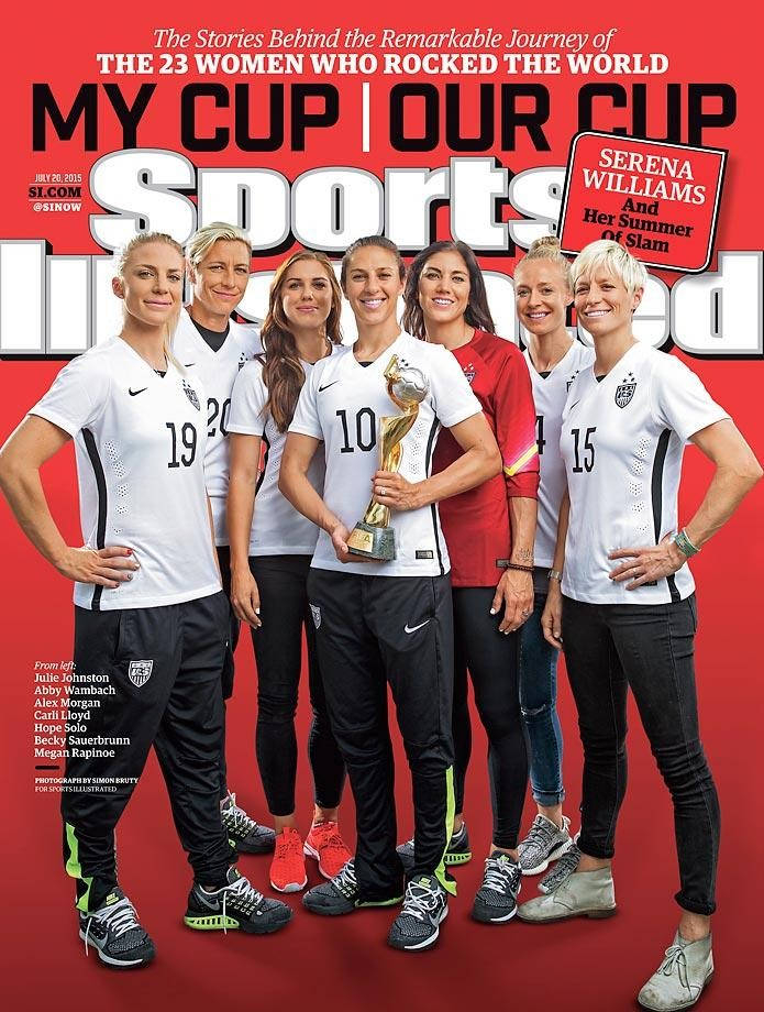 Each Member Of US Women's Champion Soccer Team Gets Her Own Cover On Sports Illustrated | Soccer