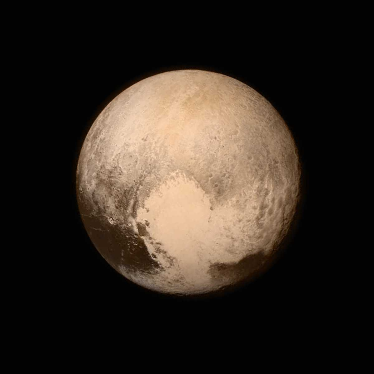 New Horizons Spacecraft Shows Us Pluto Up Close | Pluto