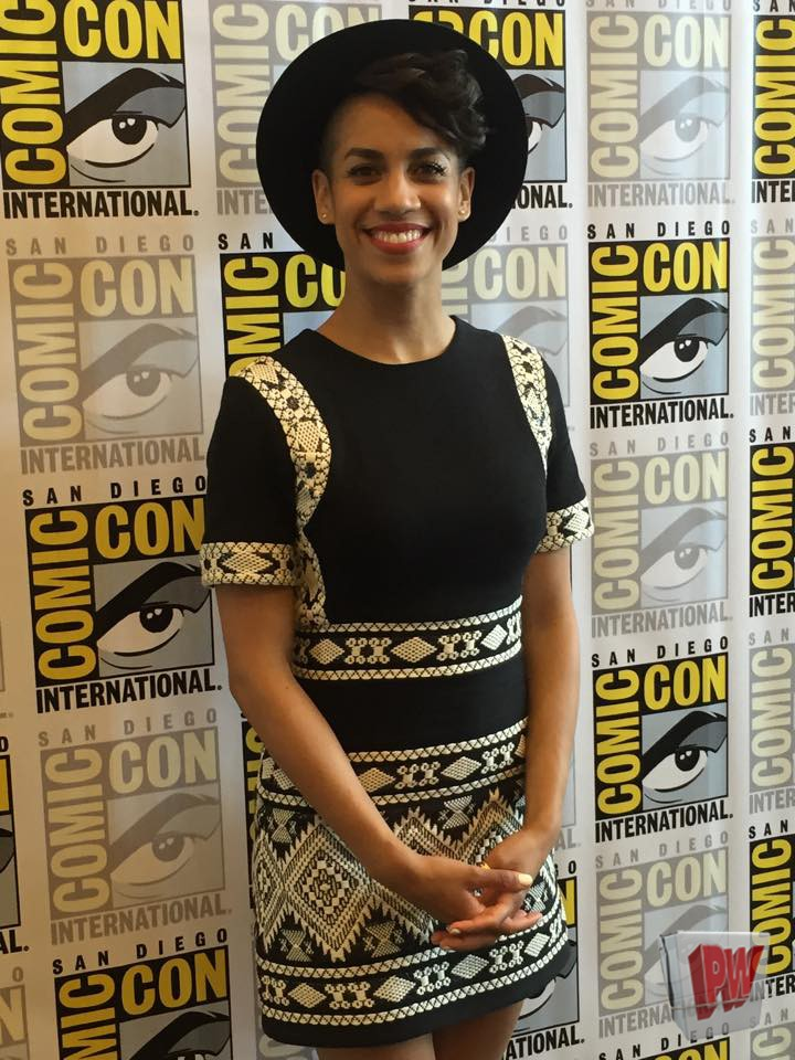 PW Covers San Diego Comic Con: Dominique Tipper Discusses Her Experience On