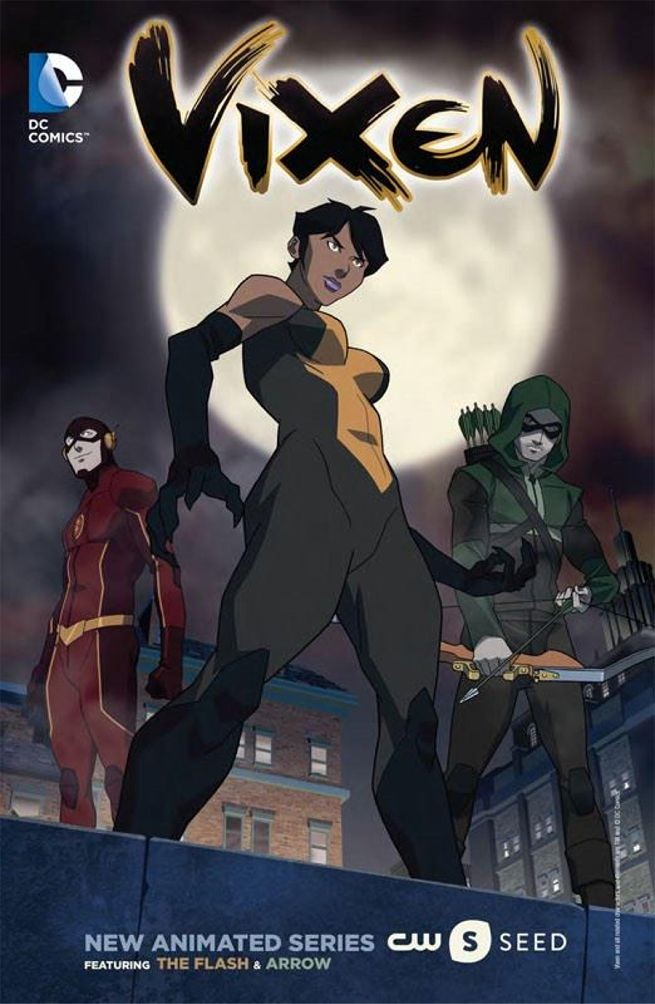 The Thrilling Trailer For CW's Vixen Cartoon Debuts | Vixen