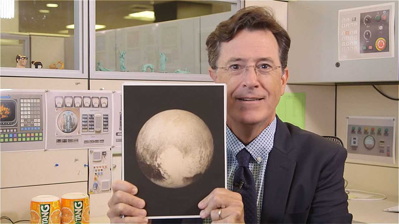 We're Nerding Out Over Colbert And Degrasse-Tyson Discussing New Horizons, Pluto | new horizons