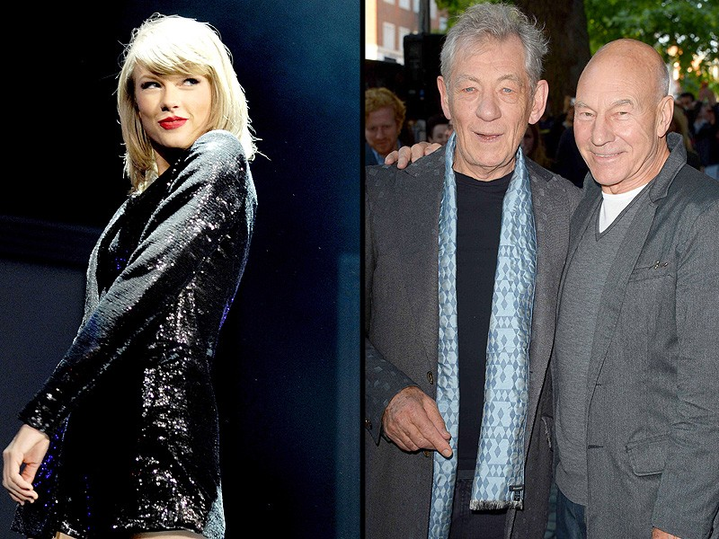 Sir Patrick Stewart Wants To Join Taylor Swift's Squad! | Patrick Stewart