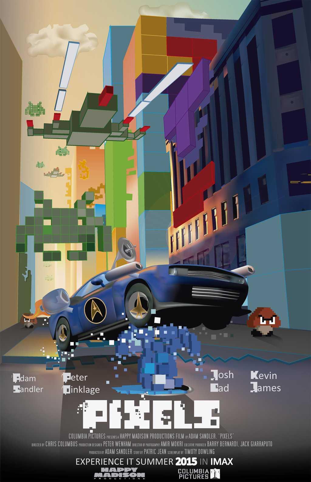 Loudinni Reviews: PIXELS   Pixels