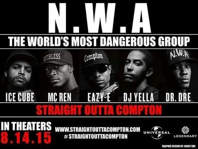 Straight Outta Compton: NWA Premieres In L.A. Next Month | Straight Outta Compton