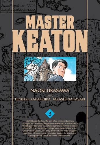See What's In Store For Master Keaton Volume 3 Review | master keaton