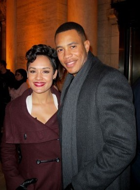 Empire Stars Trai Byers And Grace Gealey Are Engaged | Grace Gealey