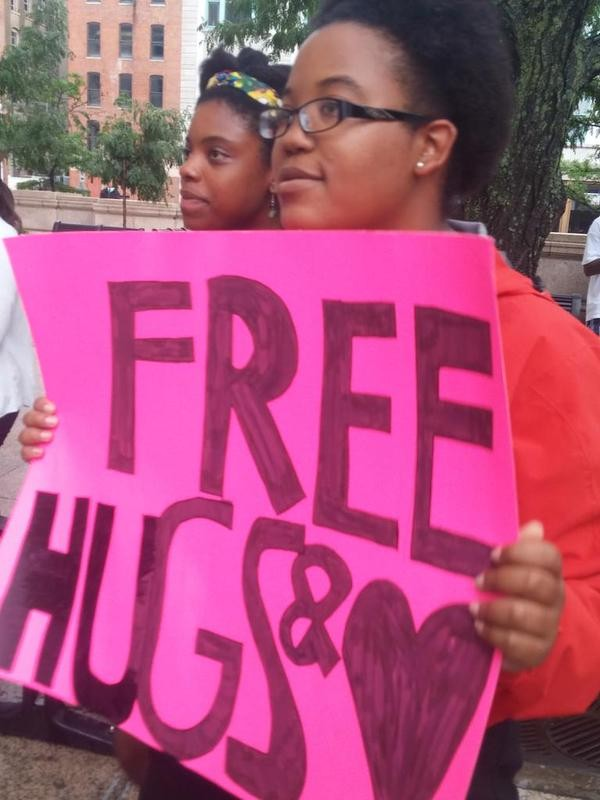 Peaceful Protesters Flood Cincinnati's Streets In Honor Of Sam Dubose | Sam Dubose
