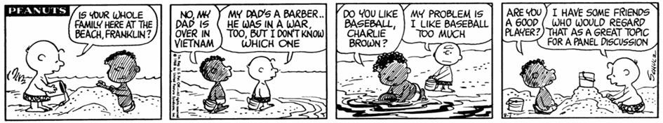 Celebrate The 47th Anniversary Of Peanuts First African-American Character, Franklin! | Peanuts