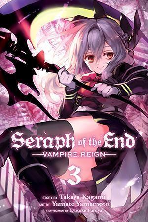 MangaNook: VIZ Media's Seraph Of The End Volume 3 Review | MangaNook