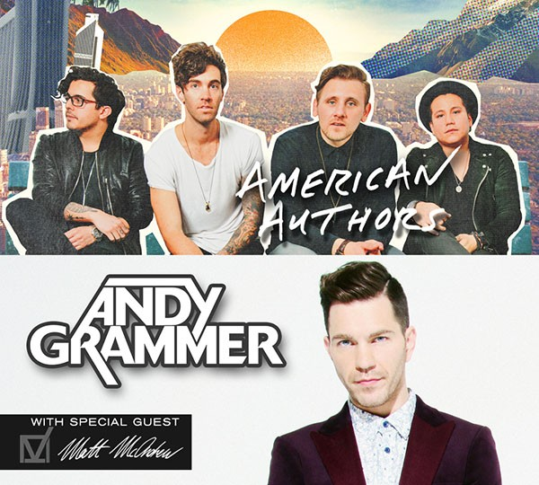 Andy Grammer & American Authors Light Up The Iron City On Tour In Birmingham | Andy Grammer