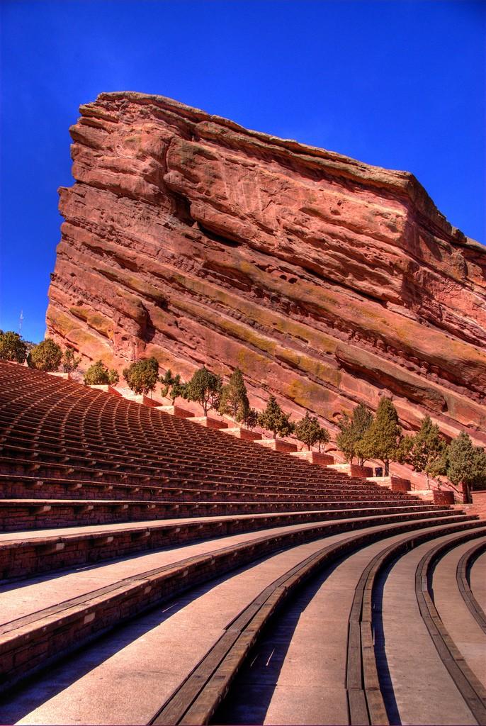 Red Rocks Amphitheatre Named Historic Landmark   Red Rocks