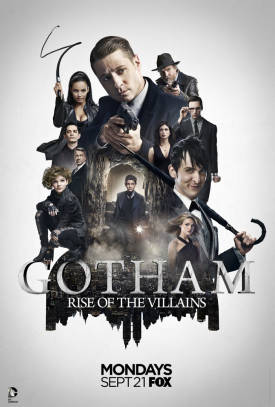 Villains Emerge In New Gotham Season 2 Poster | Gotham