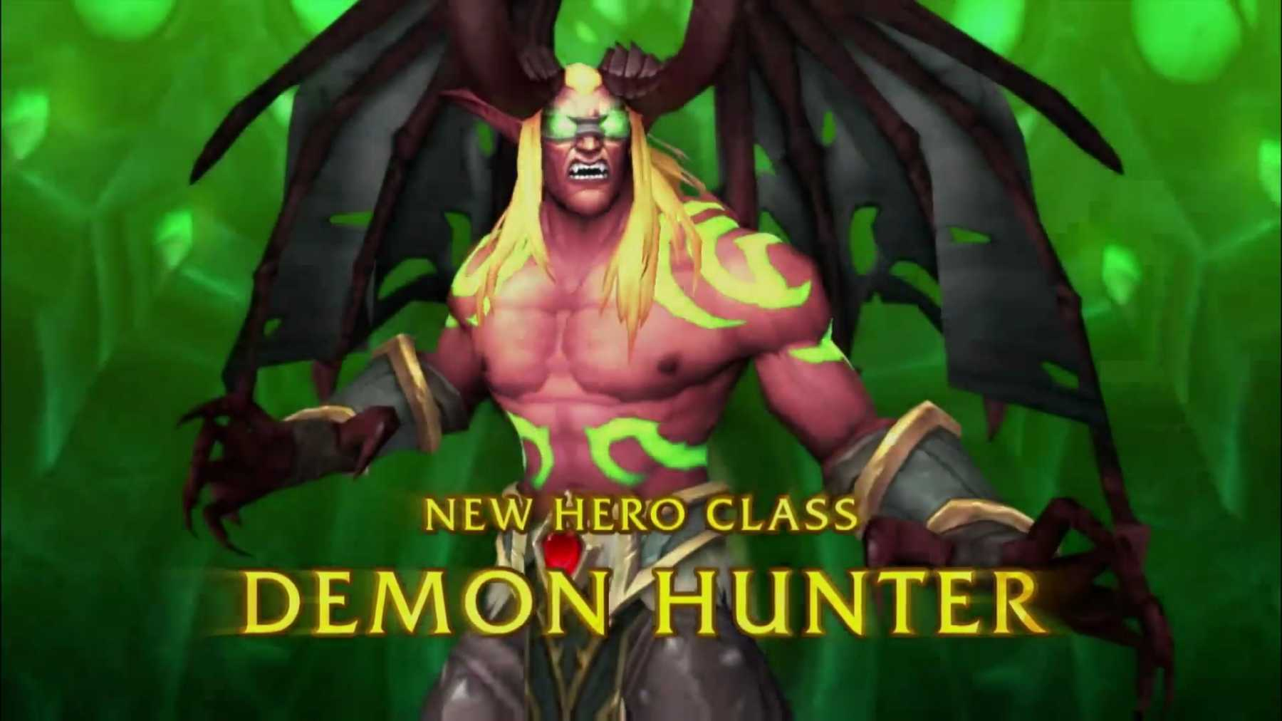 Ready Your Wallets: World Of Warcraft's New Expansion With Demon Hunter Class Revealed | world of warcraft