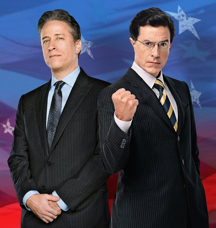 Stephen Colbert Reduces Jon Stewart To Tears With Ad-Libbed Tribute | Colbert