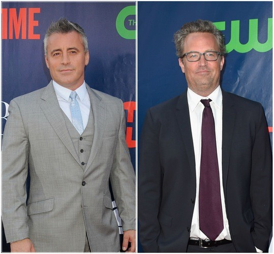 Matthew Perry, Matt LeBlanc Not Invited To Jen's Wedding | Matt LeBlanc