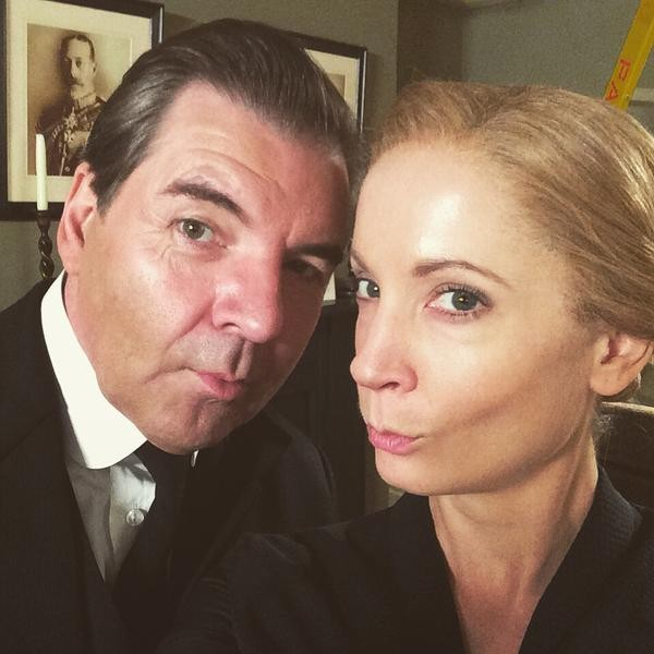 Downton Abbey Cast Leaves Us Misty Eyed With Last On-Set Photos | Downton